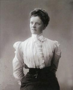 Anna Munch (Privatsammlung Gustav Borgen)