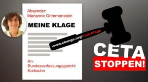 Petition auf Change.org