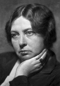 Lieblingsautorin 1: Nobelpreisträgerin Sigrid Undset Foto: 1928