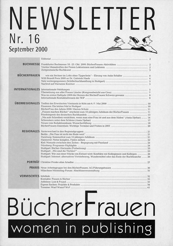Newsletter 2000