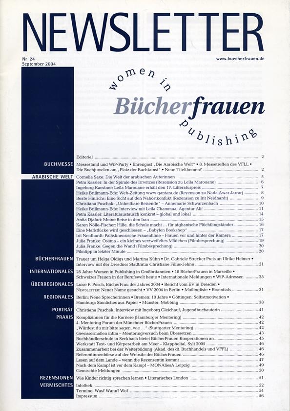 Newsletter 2004