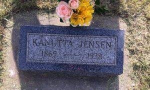 """Kanutta Jensen wurde bestimmt nie """"Nutte"""" genannt"""