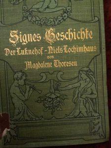 Erzählungen von Magdalene Thoresen: Signes Geschichte, Der Luknehof, Niels Lochimhaus … Cover