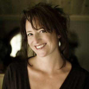 Porträt von Linde Hagerup, Verwendung vom Verlag Cappelen Damm gestattet