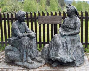 norwegische Märchenerzählerin Olea Crøger, 1801–1855